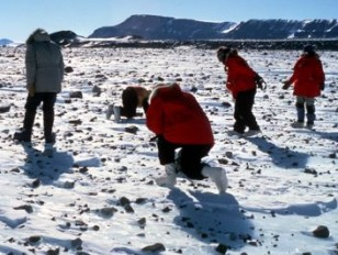 Pillinger meteorite moraine