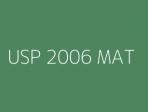 USP 2006 MAT