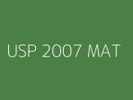 USP 2007 MAT