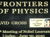Frontiers of Physics - Lindau-Nobel - David Gross - Physics 2010