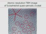 The Discovery of Quasi-Periodic Materials Lindau-Nobel Dan Schectman 2012