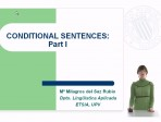 Learning English - Conditional Sentences - Part I