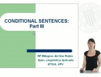 Learning English - Conditional sentences - Part III