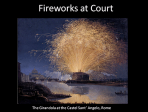 Incendiary science: fireworks at the Royal Society