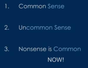 3 senses