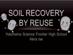 Soil Recovery